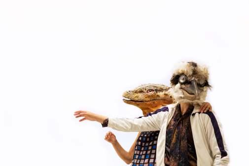 photo: Julia Franken masks: El Cuco Projekt